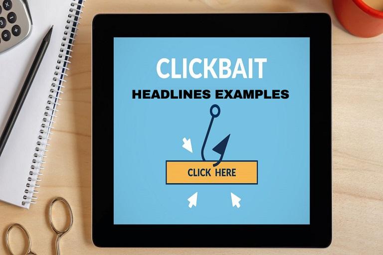 Clickbait headlines examples: