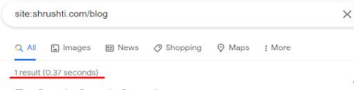 Google Search Console provides a complete picture.
