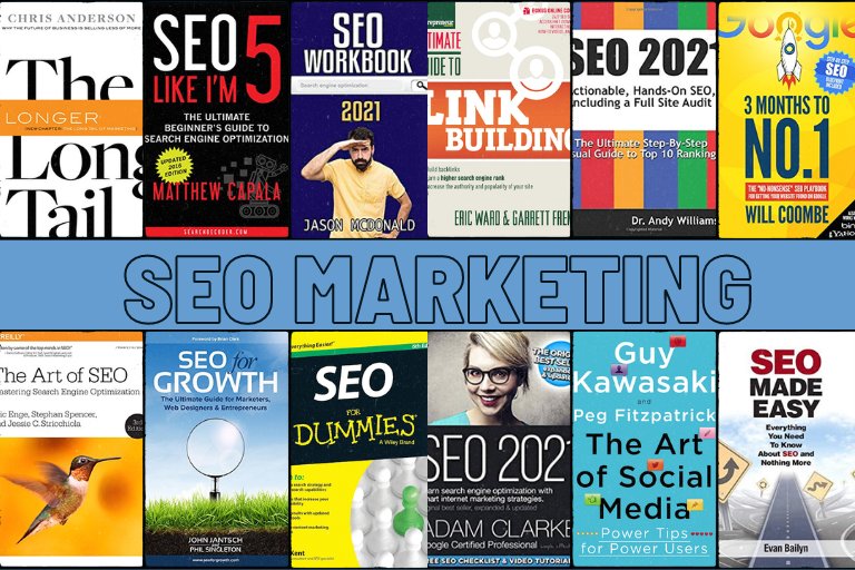 Books on SEO Marketing